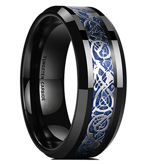 11995 - Mens Tungsten Wedding Rings