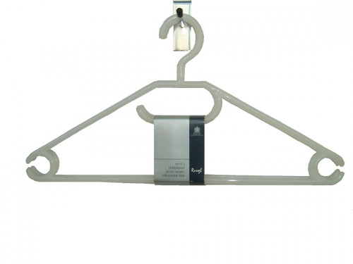 Pack of 3 Plastic Hangers
