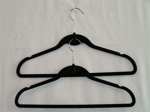 Pack of 5 Black Velvet Hangers