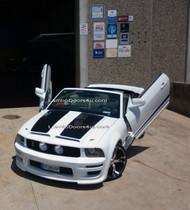 Ford Mustang Vertical Lambo Doors Bolt On 05 up