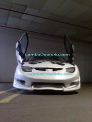 Pontiac Sunfire Vertical Lambo Doors Bolt On 95 96 97 98 99 00 01 02 03 04 05