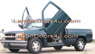 Chevrolet Silverado Vertical Lambo Doors Bolt On 88 89 90 91 92 93 94 95