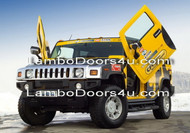 Hummer H2 Vertical Lambo Doors Bolt On 03 04 05 06 07 08 09 10