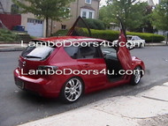 Mazda 3 Vertical Lambo Doors Bolt On 03 04 05 06 07 08 09