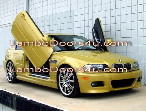 Image 1 & BMW E46 3 Series Vertical Lambo Doors Bolt On 98 99 00 01 02 03 04 ... Pezcame.Com
