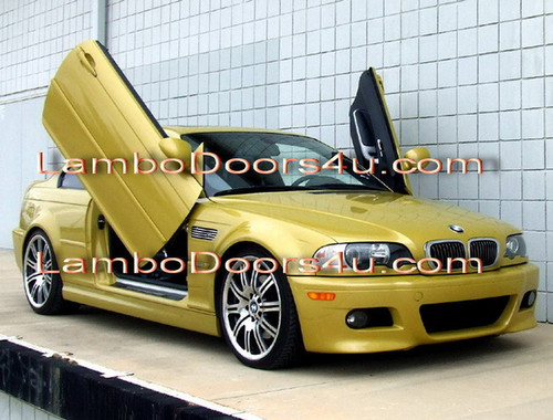 bmw e46 3 series vertical lambo doors bolt on 98 99 00 01. Black Bedroom Furniture Sets. Home Design Ideas
