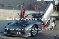Mazda RX7 Vertical Lambo Doors Bolt On 91 92 93 94 95 96 97 98 99 00 01 02