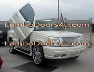 Cadillac Escalade EXT ESV Vertical Lambo Doors Bolt On 02 03 04 05 06