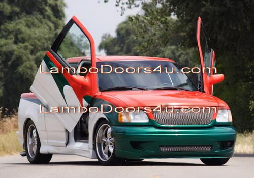 Image 1 & Ford F150 Vertical Lambo Doors Bolt On 97 98 99 00 01 02 03 ... Pezcame.Com
