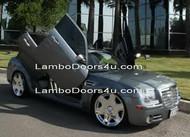 REAR Chrysler 300 300C Vertical Lambo Doors Bolt On 05 up