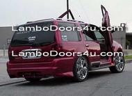 Lincoln Navigator Vertical Lambo Doors Bolt On 98 99 00 01 02