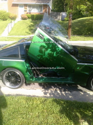 Nissan 300ZX Vertical Lambo Doors Bolt On 83 84 85 86 87 88 89