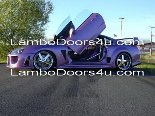 Image 1 & Toyota Supra Vertical Lambo Doors Bolt On 93 94 95 96 97 98 99 00 01 ...