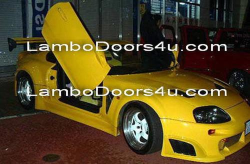 Image 1 & Toyota Supra MK IV Vertical Lambo Doors Bolt On 93 94 95 96 97 98 99 ...