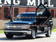 GMC Yukon XL Vertical Lambo Doors Bolt On 98 99 00 01 02 03 04 05 06