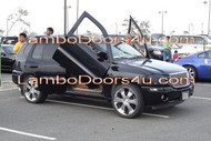 GMC Envoy Vertical Lambo Doors Bolt On 01 02 03 04 05 06