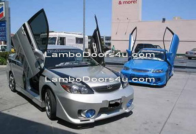 toyota camry vertical lambo doors bolt on 92 93 94 95 96. Black Bedroom Furniture Sets. Home Design Ideas