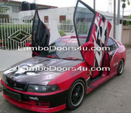 Mitsubishi Lancer EVO IV Vertical Lambo Doors Bolt On - Aug 96 - Jan 98