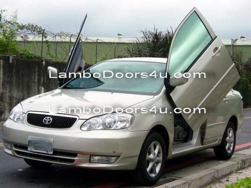 Image 1 & Toyota Corolla Vertical Lambo Doors Bolt On 93 94 95 96 97 ...