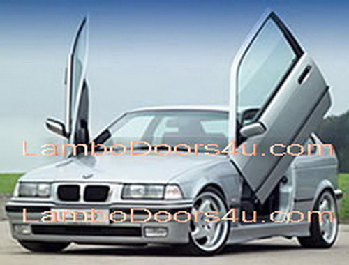 bmw compact e46 vertical lambo doors bolt on 00 01 02 03. Black Bedroom Furniture Sets. Home Design Ideas
