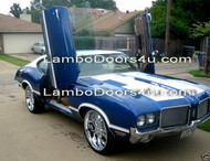 Pontiac Catalina Vertical Lambo Doors Bolt On 77 78 79 80 81