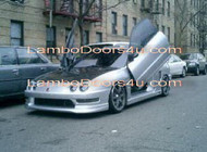 Acura EL Vertical Lambo Doors Bolt On 96 97 98 99 00 & Acura Integra Vertical Lambo Doors Bolt On 2dr 4dr 94 95 96 97 98 99 ...
