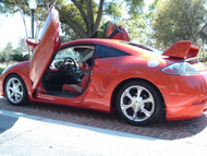 Mitsubishi Eclipse Vertical Lambo Doors Bolt On 06-12