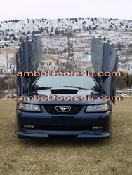Ford Mustang Vertical Lambo Doors Bolt On 94 95 96 97 98