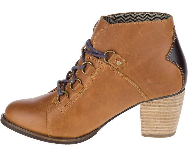 Brown Ankle Boot by CAT