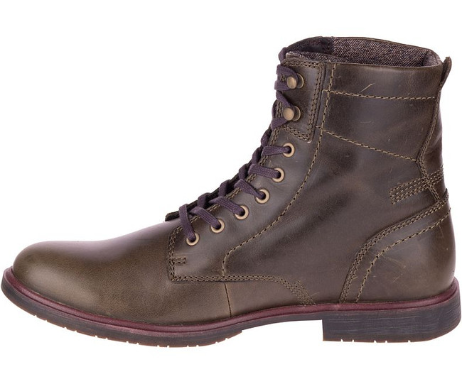 Mens' Leather Lace Up Boot by CAT