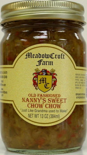 MeadowCroft Farm Old Fashioned Nanny's Sweet Chow Chow