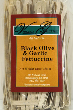 Black Olive & Garlic Fettuccine