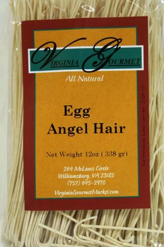 Egg Angel Hair Pasta