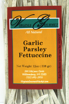 Garlic Parsley Fettuccine