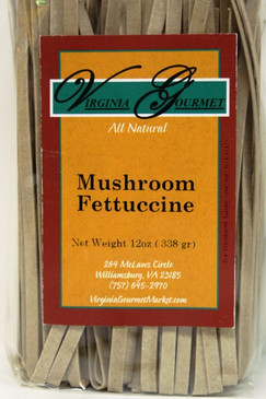 Pasta (6 Pack - Vegan) Mushroom Fettuccine - Virginia Gourmet