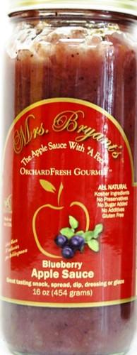16 oz Blueberry Applesauce