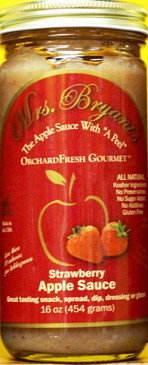 Strawberry Apple Sauce