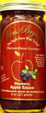 Blueberry Apple Sauce
