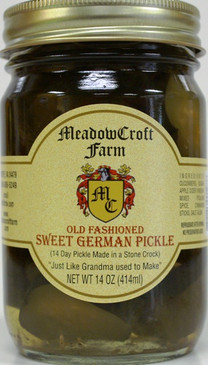 MeadowCroft Sweet German Pickles