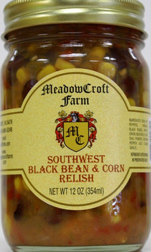 MeadowCroft Farm Black Bean Corn Relish
