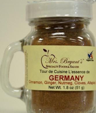 Mrs. Bryant's Germany spice blend