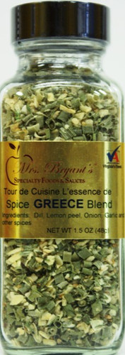 Mrs. Bryant's Greece spice blend