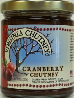 Cranberry Chutney - Virginia Chutney Company