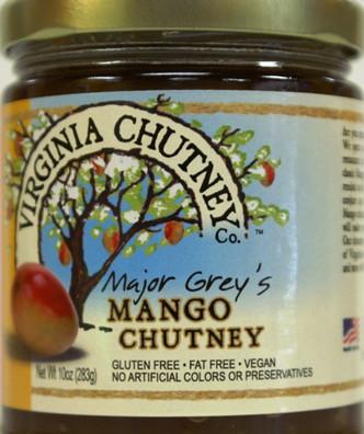 Mango Chutney - Virginia Chutney Company