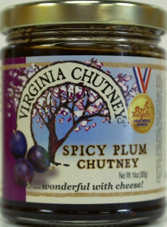 Spicy Plum Chutney - Virginia Chutney Company