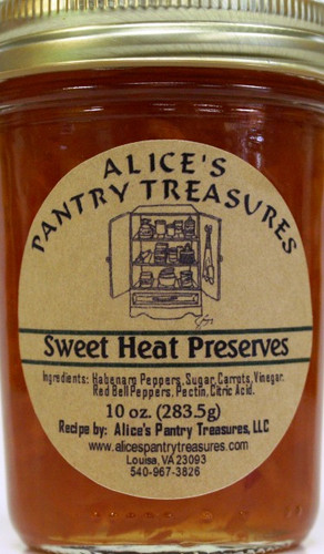 Habanero-Carrot Preserves - Alice's Pantry Treasures