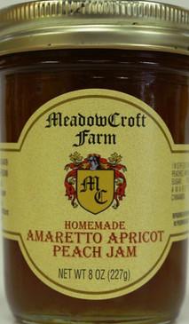 Amaretto Apricot Peach Jam - MeadowCroft Farm
