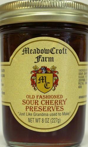 Sour Cherry Preserves - MeadowCroft Farm