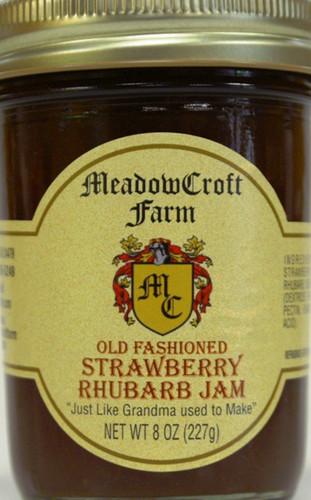 Strawberry Rhubarb Jam - MeadowCroft Farm