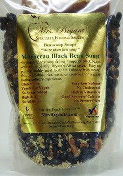 Moroccan Black Bean Soup - Mrs. Bryant's